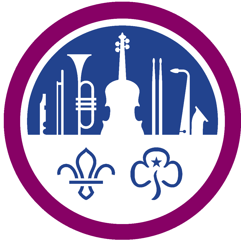 The National Scout and Guide Symphony Orchestra and Concert Band Logo